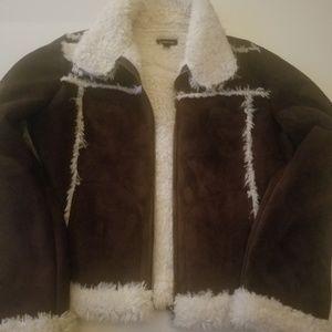 Bebe suede jacket